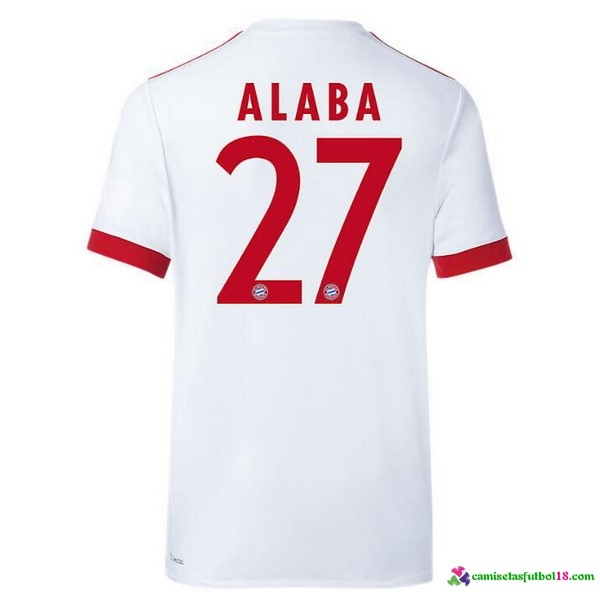 Alaba Camiseta 3ª Kit Bayern Munich 2017 2018